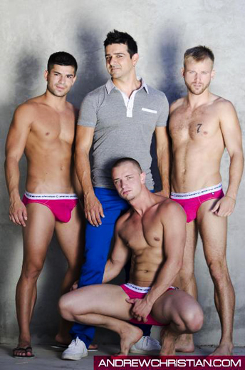 andrew christian models