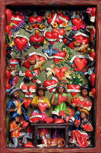 puerto vallarta valentines travel mexican folk art